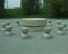 Table of Silence - Constantin Brancusi