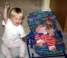 <b>It's all fun and games until a child ruins everything.</b>