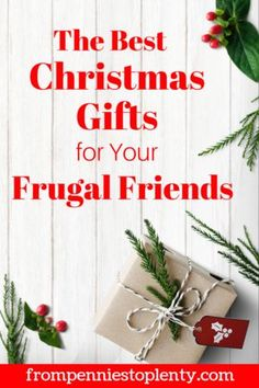 20 Christmas Gifts for Your Frugal Friends - Finance tips, saving money, budgeting planner Why Christmas, Christmas Gift For You, Frugal Christmas, Christmas Baking, Savings Planner, Budget Planner, Holiday Gift Guide, Holiday Gifts, Money Saving Tips