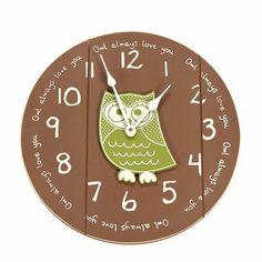 Target - Owl Always Love You Wall Clock by Twelve Timbers