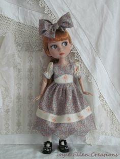 "Patience Tonner 14"" BJD Fashion by JEC Vintage Style Dress Set OOAK   eBay"