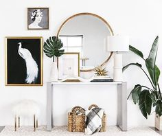 Art is one of the most impactful aspects of home design. Learn how to choose art for your home with Havenly head designer Shelby! Living Room Designs, Living Room Decor, Bedroom Decor, Master Bedroom, Empty Wall Spaces, Deco Design, Room Themes, Cheap Home Decor, Apartment Living