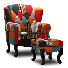 Sherlock - Chair + Ottoman - Milan Direct