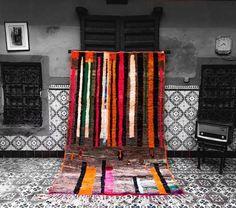 Tapis vintage marocain tapis Boujaad tapis boho tapis | Etsy