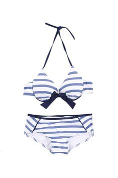 cute! nautical swimsuit