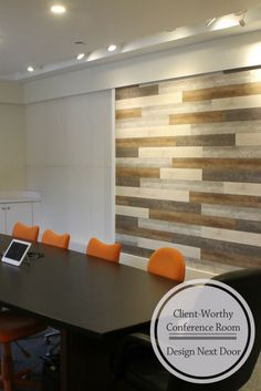 Have you ever wondered if product manufacturers use their own products? Well of course they do! And we here at Inteplast Building Products are no exception. Building Products, Accent Walls, Planks, Funeral, Home Office, Indoor, Wood, Table, Character