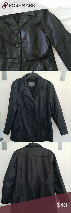 WILSON LEATHER 38-48 bust 28 length  24 sleeve Wilsons Leather Jackets & Coats