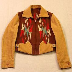 Vintage 40's Native American Ortega Chimayo S Jacket Very Nice!