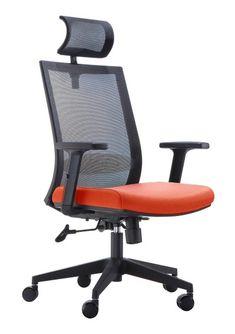 Scaun de birou ergonomic Novo S179 #bigsales #inspiration #office #officechair #orange #decoration Decoration, Chair, Furniture, Orange, Design, Home Decor, Inspiration, Decor, Biblical Inspiration