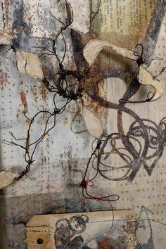 Shelley Rhodes image album Atelier D Art, Collagraph, Book Sculpture, Art Courses, A Level Art, Leaf Art, Mark Making, Textile Artists, Mail Art