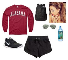 12-6-15 by grace-payne-i on Polyvore featuring polyvore, fashion, style, H&M, NIKE, The North Face, Ray-Ban and alabama