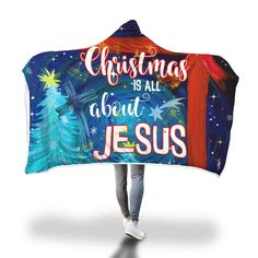 Christian christmast gift ideas - we really love this christian hooded blanket with saying Christmas is all about Jesus. Christian Women, Christian Gifts, Christian Faith, Christian Quotes, Christian Living, Prayer Quotes, Bible Verses Quotes, Encouragement Quotes, Bible Verses About Love