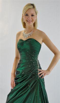 Robe de soirée bustier glamour