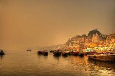 Amanece en el Ganges