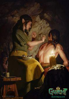 Havcaaren Healer, Ilker Serdar Yildiz on ArtStation at https://www.artstation.com/artwork/JzEnv
