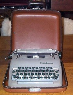 """Capote's Smith Corona  'In Cold Blood' Typewriter sells for $8281. From the seller, (friend of Capote's): """"All of these personal things were given to me by Mr. Capote. I picked him up from the airport in Kansas City, Missouri several times and drove him to Holcomb, Kansas. Mr. Capote was getting information on a crime that took place there for a book he was writing."""" James Massey writes that Capote liked to write a draft of his books and then a revision longhand, before using a typewriter."""