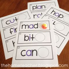 The Home Teacher: Letter E Candy
