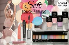 "Preview : Limited Edition ""Soft Touch Feeling"" von Rival de Loop! http://jessica-cosmetics-fairy.blogspot.de/2015/04/preview-limited-edition-touch-feeling.html"