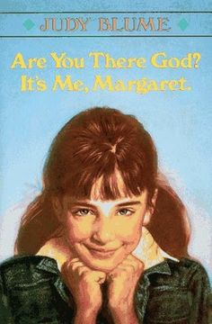 Are You There God? It's Me Margaret, by Judy Blume #YA #YoungAdult #BookCover Books You Should Read, Book Lists, Books Online, Fiction, Author, God, Reading, Cover, Image