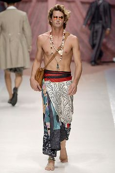 Etro Spring 2007 Menswear Collection Slideshow on Style.com