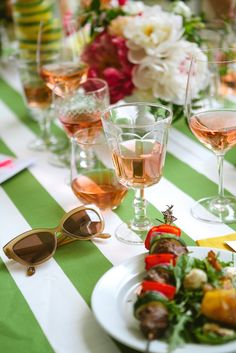 Rose Tasting Garden Party Ideas   Domestikated Life