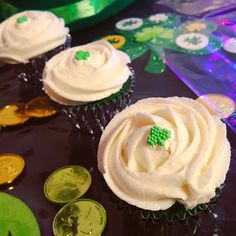 Green Velvet Cupcakes  St. Patty's Day Collection