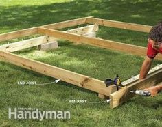 Photo 4: Install the joists