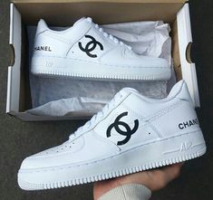 Chanel Boots Trending Chanel Boots for sales. - Chanel Boots - Trending Chanel Boots for sales. - Chanel Boots Trending Chanel Boots for sales. Sneakers Fashion Outfits, Fashion Shoes, Vans Customisées, Women's Shoes, Souliers Nike, Basket Style, Reflective Shoes, Chanel Boots, Chanel Sneakers