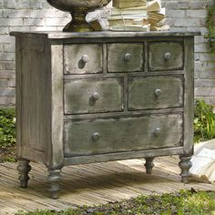 I pinned this Hooker Furniture Melange Dawson Chest from the Wonderfully Weathered event at Joss and Main!
