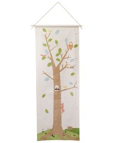 WOODLAND GROWTH CHART | For Kids, Kids Room, Tree, Forest, Children's Toy, Embroidery | UncommonGoods