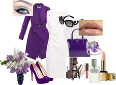 """Purple passion"" by julie-chadwick on Polyvore"