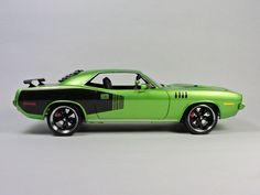 Revell 1971 Envy Green Hemi Cuda