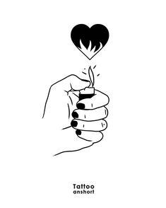 Dibujos journal dise o de lapiz pinterest dessin id e dessin et amour perdu - Tatouage amour perdu ...