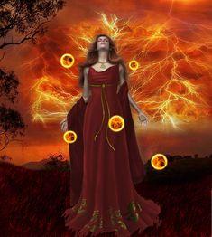Rhiannon Goddess of Fire by Oriel-Danger on DeviantArt