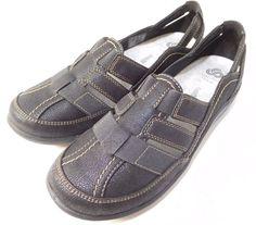 ac56dbd2b45 Women s Clarks Sillian Stork Slip on Comfort Summer Loafers US 7.5 M Black  NEW 1  Clarks  Comfort. SKSHOPLLC · Women s Shoes