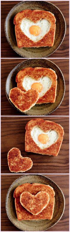 Valentine's Day Egg in the Basket