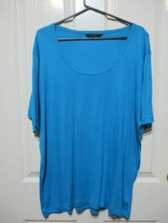 Ladies aqua tshirt si8ze 24 Expressions label #Aqua #TShirt #Casual Online Price, Aqua, Label, Best Deals, T Shirt, Ebay, Tops, Women, Fashion
