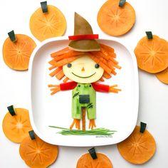 Fruit scarecrow by m i c h a e l a (@cutechichai)