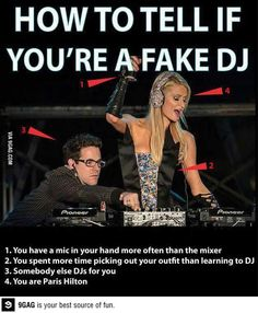 How to tell if youre a fake dj