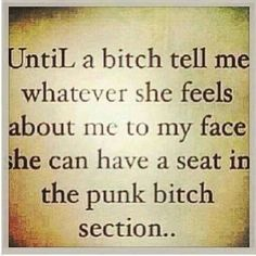 Go on ahead and pull you up a chair punk a$$ B****!!¡!!