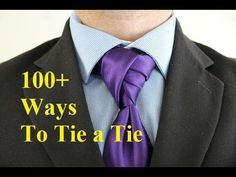 How To Tie a Tie - Rose Bud Knot - YouTube