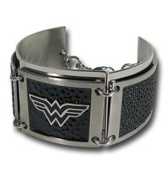 Wonder Woman Black Segment Bracelet