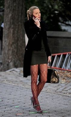 great tights - Blake Lively style
