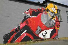 Awsum art work Bike Stuff, Road Racing, Motorbikes, Art Work, Respect, Baby Car Seats, Honda, Motorcycles, Boys