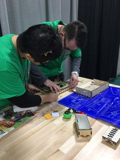 """Dawn Vatuna, NBCT @MsDawnNBCT09 What will it do? Perhaps mesh the """"virtual world w/ the real world..."""" Visit the Learning Lab #minefaire"""