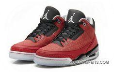 new product ee436 0062d Women Men Latest Air Jordan Iii Db Doernbecher Varsity Red Metallic Silver  Black 437536 600