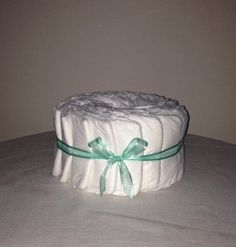 Decorate it yourself 1 tier Nappy Cake by HolliesNappyCakes