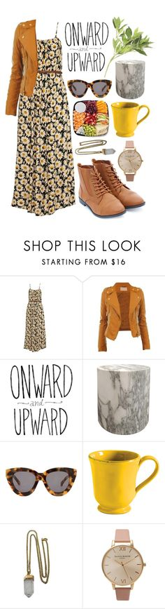 """""""Untitled #3"""" by blueviolets1 ❤ liked on Polyvore featuring Kelly Wearstler, Karen Walker, Lacey Ryan and Olivia Burton"""