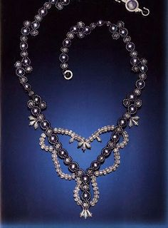 evening beaded necklace