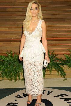Rita Ora at the Vanity Fair bash